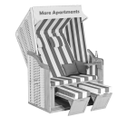 Strandkorb in Sahlenburg im Apartment Mare