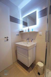 Mare Apartments Badezimmer Waschtisch