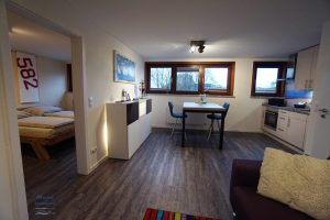 Mare Apartments Schlaf - Esstisch - Küche